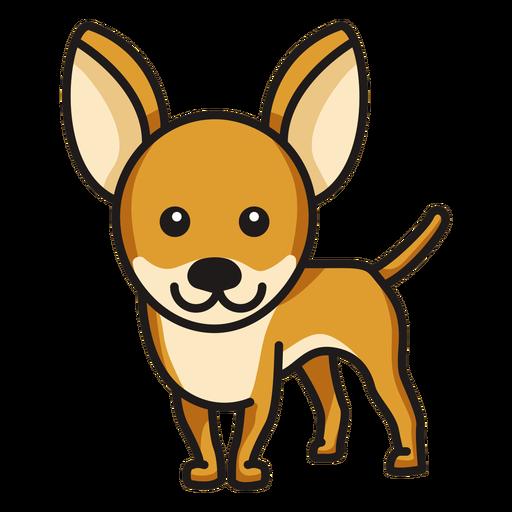 Chihuahua color lindo Transparent PNG