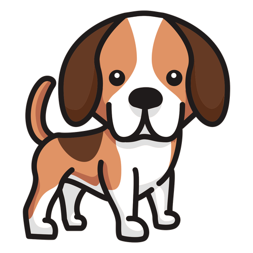 Cute puppy staring Transparent PNG