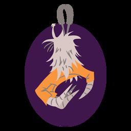 Garra de águia afiada