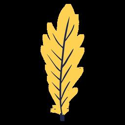 Carnaval de hojas de plumas
