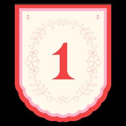 Banner de guirnalda floral número 1