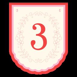 Banner de guirnalda floral número 3