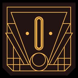 Art-Deco-Banner Nummer 0