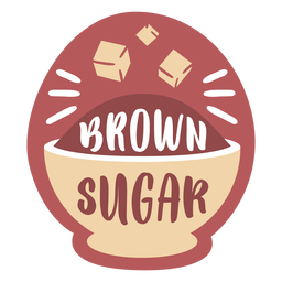 Despensa etiqueta azúcar moreno