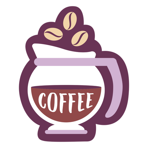 Café etiqueta de despensa Transparent PNG