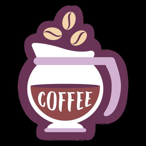 Café com rótulo de despensa