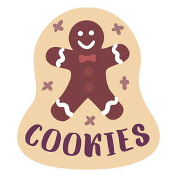 Pantry label cookies
