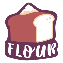 Pantry label flour