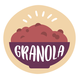 Pantry label granola