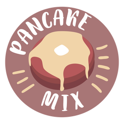 Pantry label pancake mix