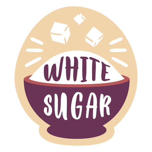Pantry label white sugar