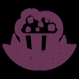 Pantry popcorn label