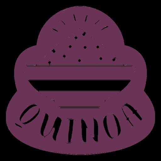 Etiqueta de quinoa de despensa