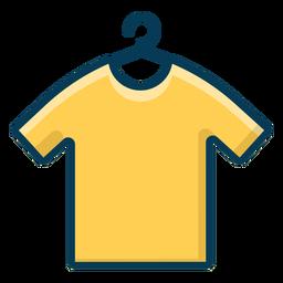 Camisa no cabide