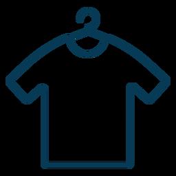Camisa en trazo de percha