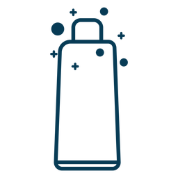 Soap tube container stroke