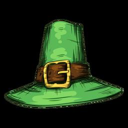 Sombrero del día de san patricio fresco
