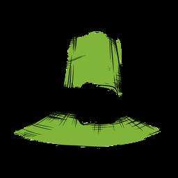 Sombrero del día de san patricio verde