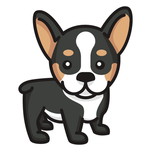 Staring puppy cute Transparent PNG