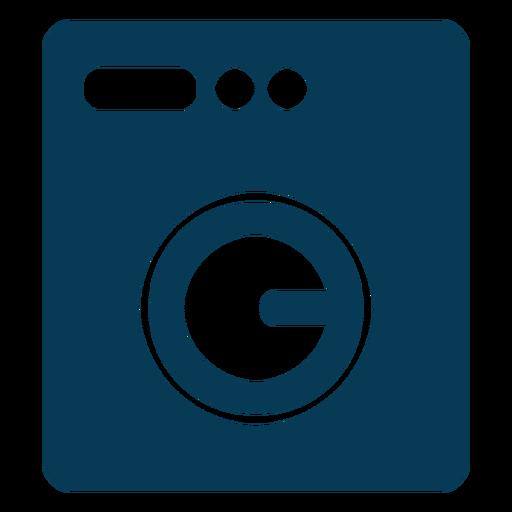 Lavadora de ropa azul