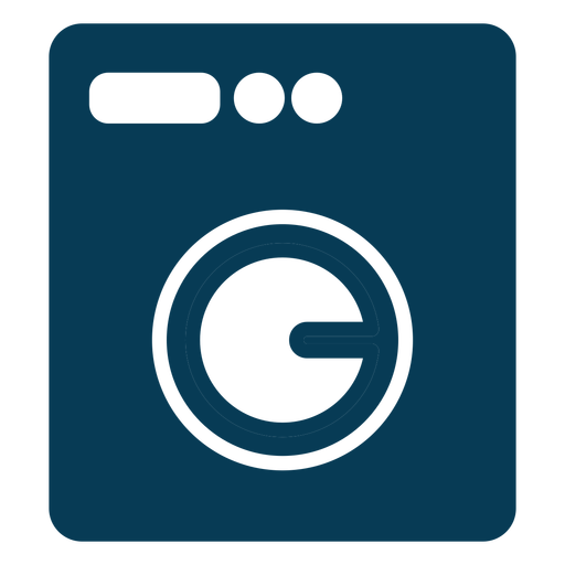 Washing machine laundry blue Transparent PNG
