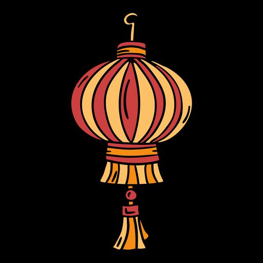 Hand drawn chinese lantern