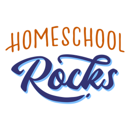 Homeschool balança letras