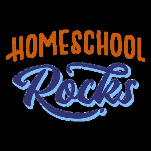 Letras de rocas de escuela en casa Transparent PNG