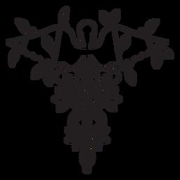 Hospital serpiente personal caduceo símbolo trazo
