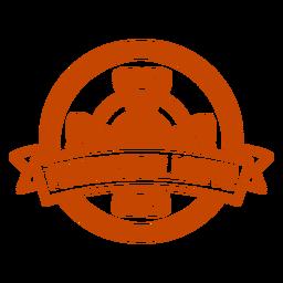 Professional larper glyph badge