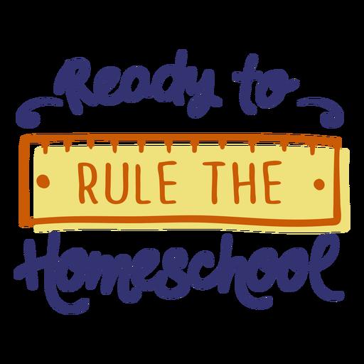 Regla de letras de educación en el hogar Transparent PNG