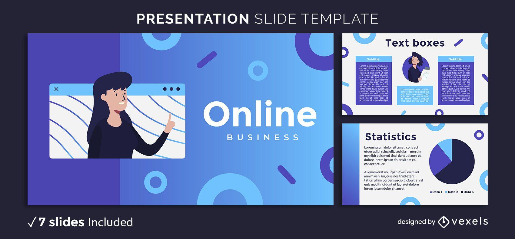 Modern Educational Presentation Template