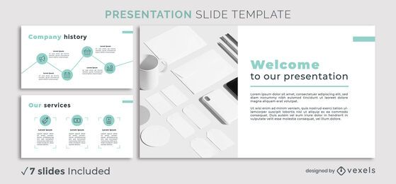 Minimal Business Presentation Template