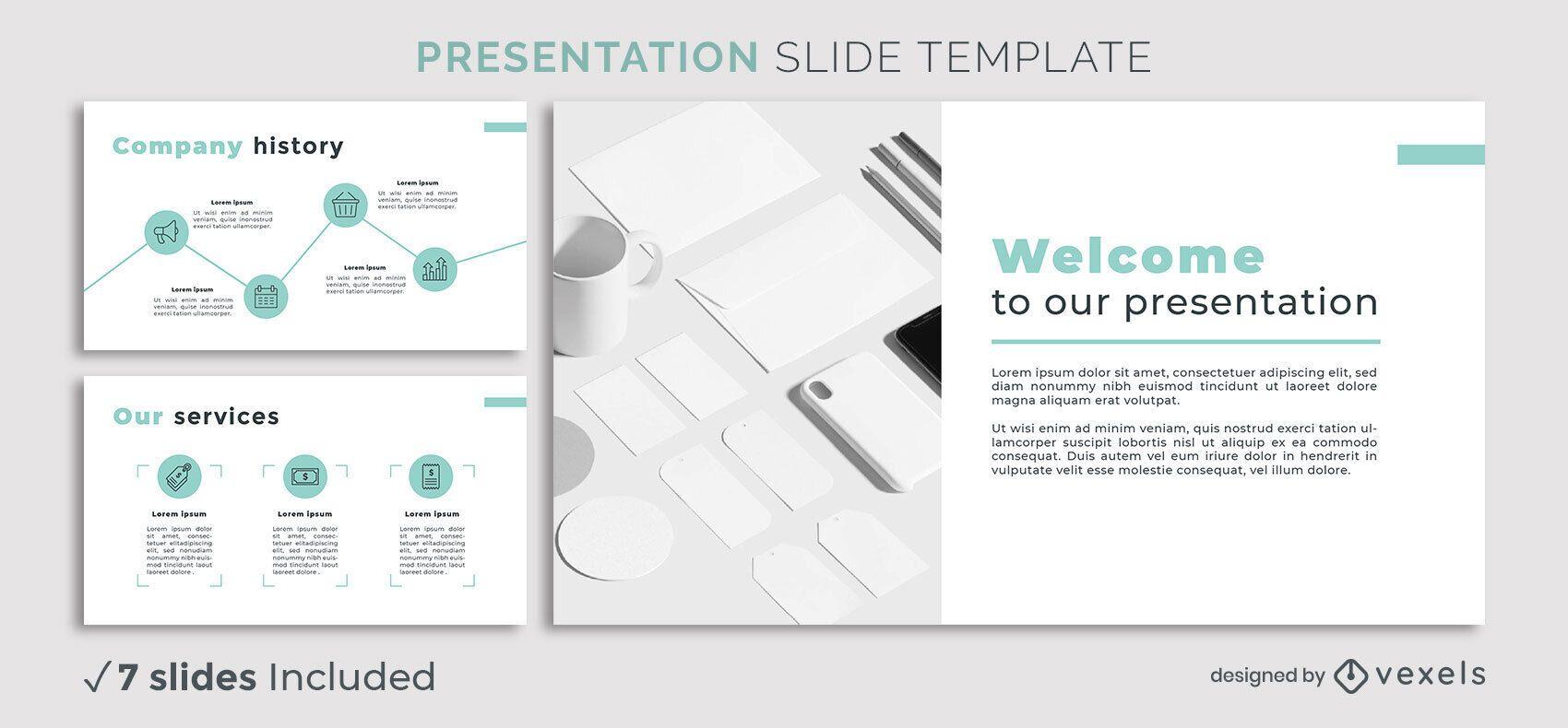 Minimal Business Presentation Template