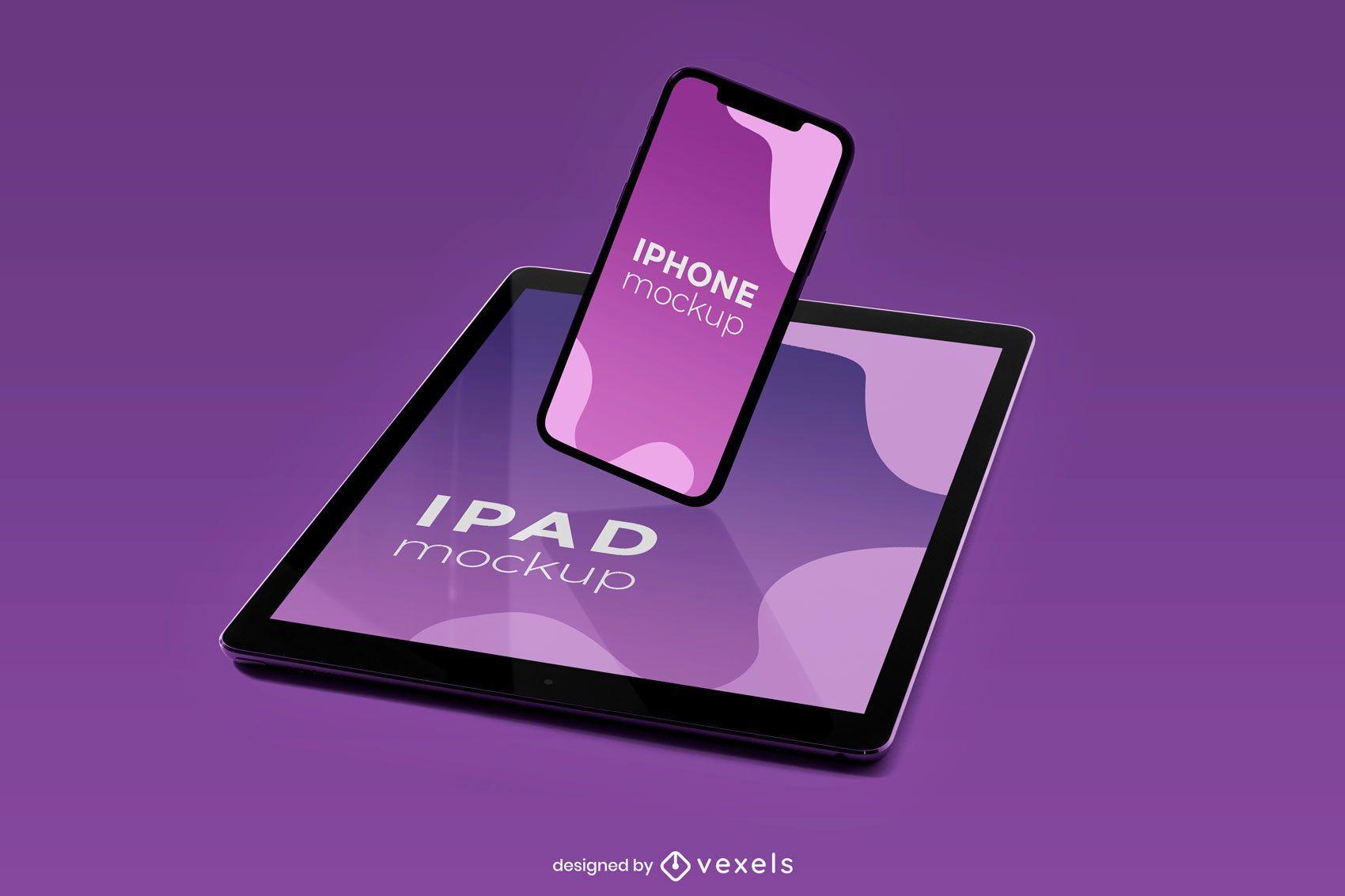 iphone ipad mockup design