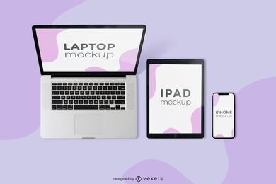 multidevice mockup composition