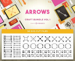 Pacote Arrows Craft Vol. 1