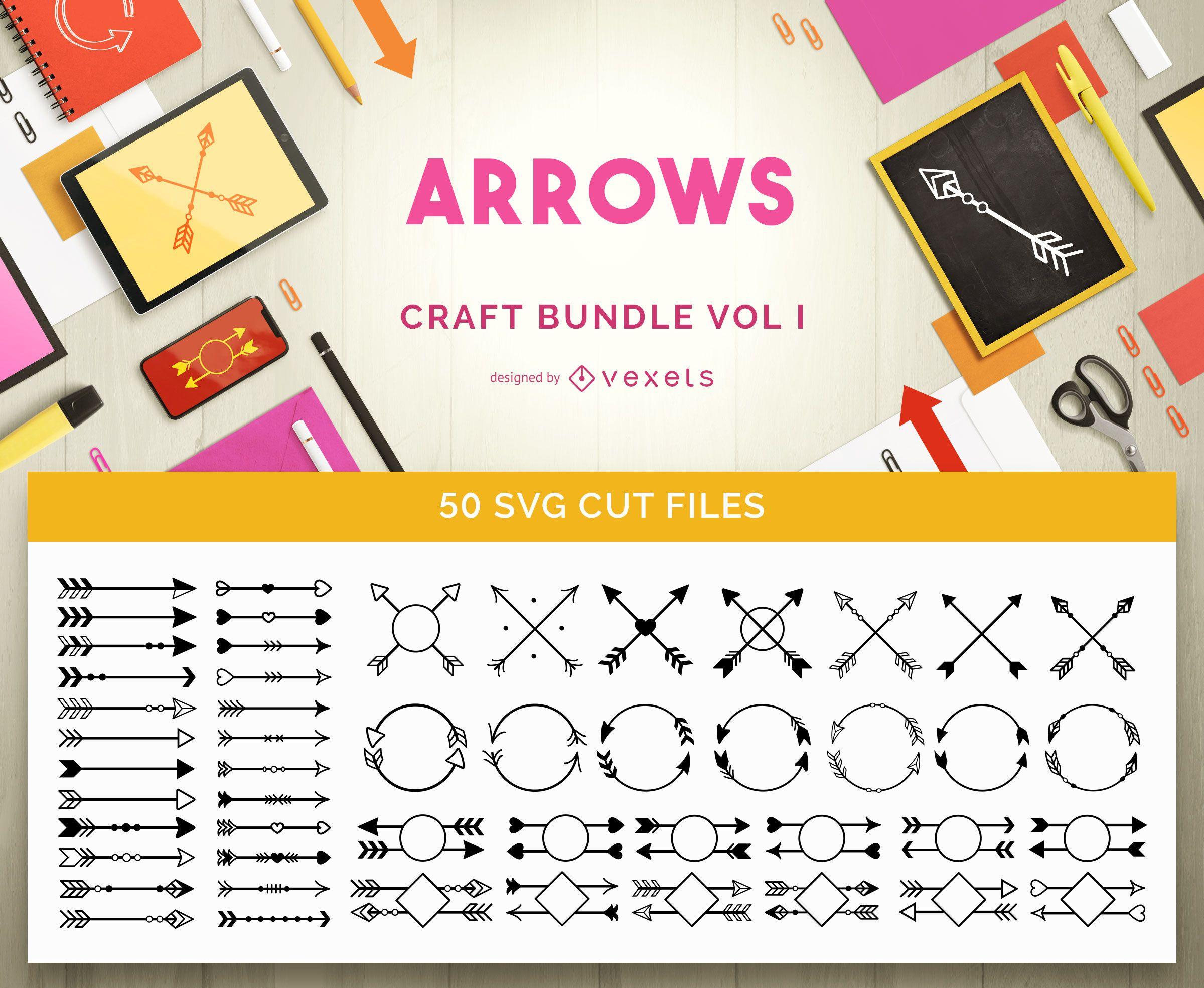 Paquete de artesanía de flechas Vol 1