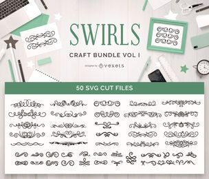 Swirls Craft Bundle Vol 1