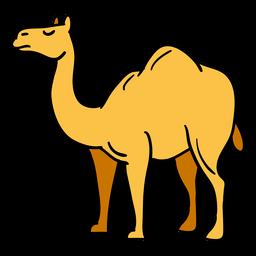 Hand drawn camel egypt symbol