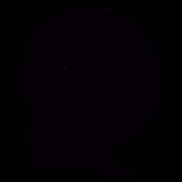 Estátua de Jesus ao pôr do sol brasil preto