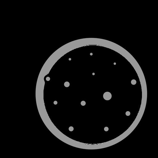 Mercurio planeta del sistema solar simple