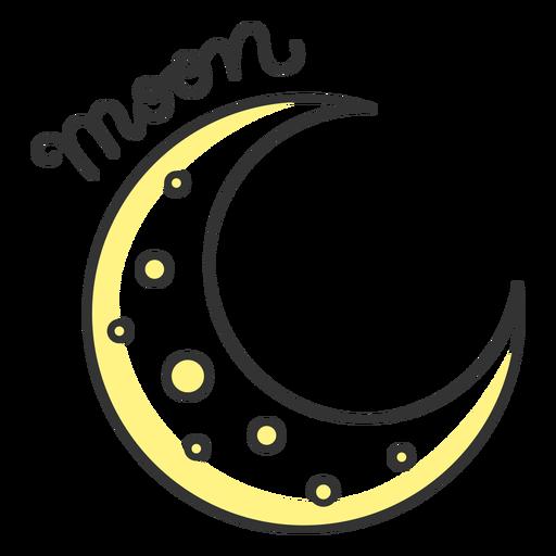 Mond einfaches Sonnensystem Mond
