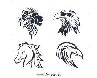 Vectores de tatuajes
