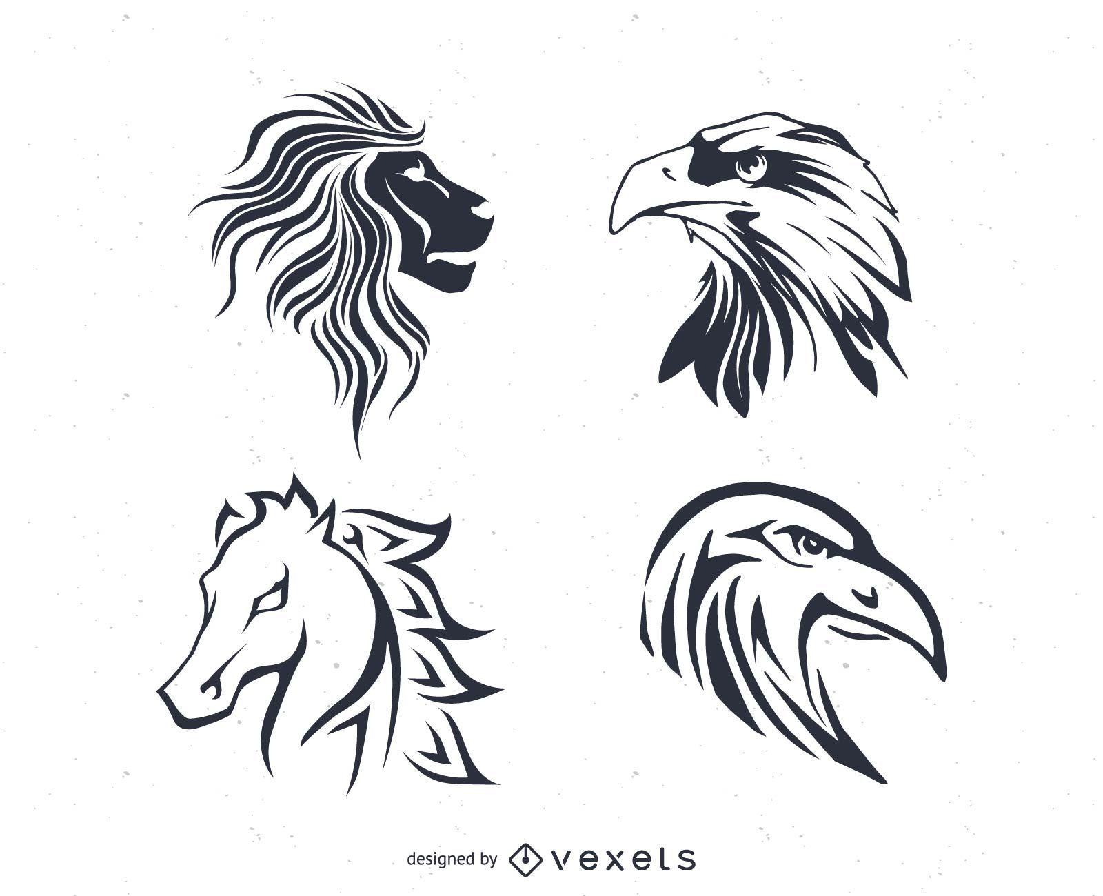Vectores del tatuaje