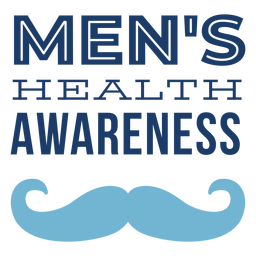 Letras de bigote hombres salud