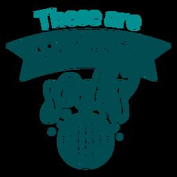 Diseño de letras de mis calcetines de fiesta