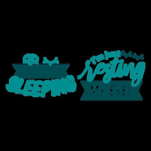 Not sleeping just resting my eyes sock design