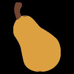 Pear fruit flat pear
