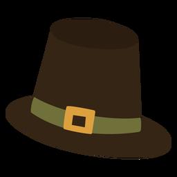 Sombrero de peregrino plano
